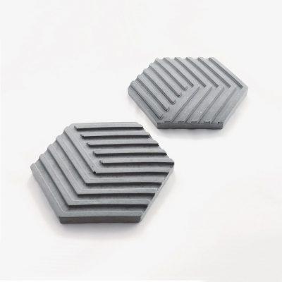 Altıgen Beton Bardak Altlığı (Coaster) - Dekopano.com - Ürün